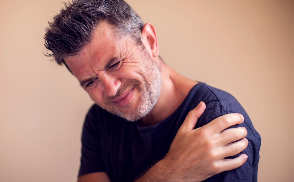 Aging, Injury May Lead to Shoulder Pain